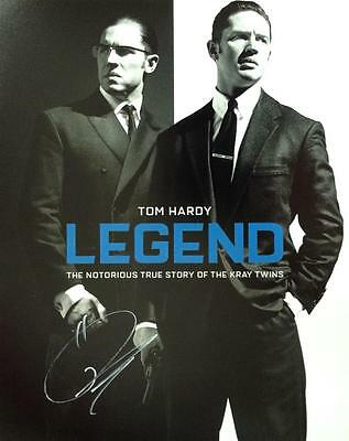 Tom Hardy (The Krays Legend) Hand Signed Authentic 10x8 Photograph COA