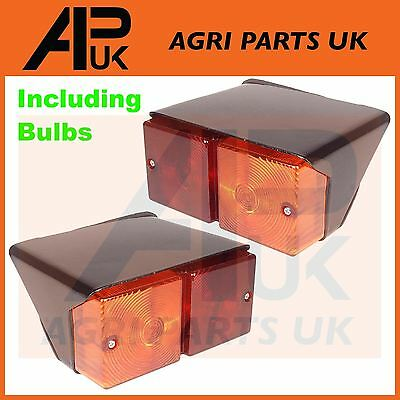 Ford Tractor Rear Light Pair 2600 3600 4100 4110 4600 5610 6610 7610 New Holland
