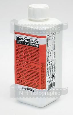 Agfa Rodinal Compard R09 500ml Black & White Liquid Film Developer Free UK Post