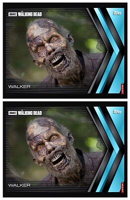 2x FORTITUDE BLUE WALKER #3 The Walking Dead Card Trader Digital
