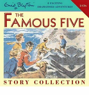Famous Five Short Story Collection by Enid Blyton New CD-Audio Book