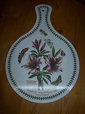 Portmerion-'The Botanic Garden'-'Rhododendrum Liliflorum ', Chopping Board used