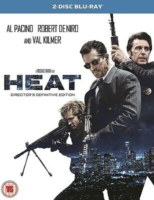 Heat (2 Disc Director`s Edition) Brand New Sealed Blu Ray (Uk)