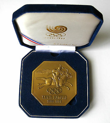 Official Medal 1988 Olympic Games Seoul