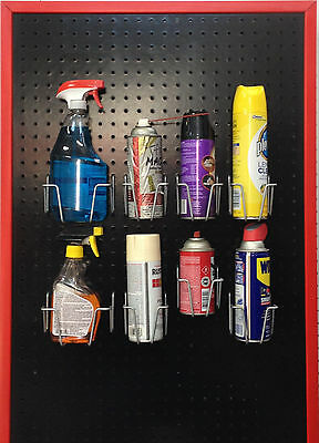 Pegboard Bins --  Can & Bottle Hooks / Bin