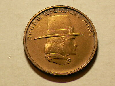 Roger Williams Mint, Minters of Fine Coinage Advertisement Token # 3230