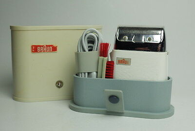 1957 BRAUN COMBI DL5 Dieter Rams, Gerd A. Muller Electric Razor Shaver GERMANY