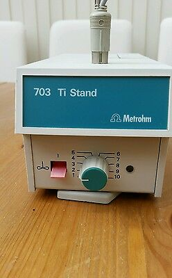 Metrohm - 703 Ti Stand - Magnetic Stirrer For KF Titrator W/O Accessories