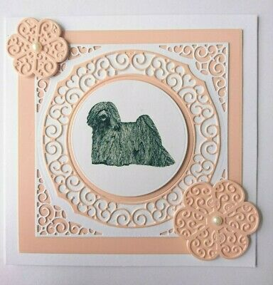 Puli Blank Greeting Card Handcrafted by Curiosity Crafts