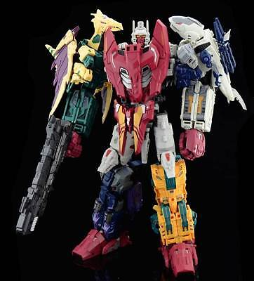 Transformers 3D Party Unique Toys Ordin/Abominus serie Completa 5 in 1