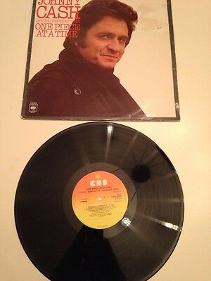 Johnny Cash - One Piece At A Time. 1976 UK CBS LP First Press