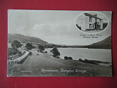 Mardale: Haweswater, Bamton Grange - Scarce Real Photo Postcard!