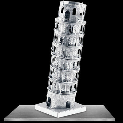 Fascinations Metal Earth 3D Laser Cut Model - Leaning Tower of Pisa