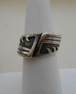 Sterling  Silver Southwest Turquoise Mosaic  Ring  321809