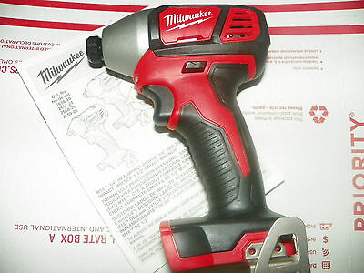 """NEW!!!Milwaukee M18 2656-20 1/4"""" Hex Impact Driver TOOL ONLY"""