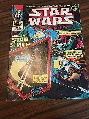 Star wars Weekly Marvel comics Group - No.9; Apr 5th 1978