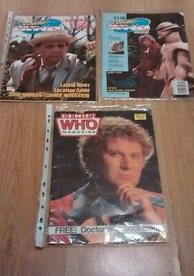 3 x DR WHO MAGAZINES