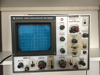 Trio Kenwood CS-1562A 10MHz Two Channel Oscilloscope