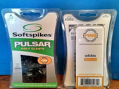 Softspikes Pulsar PINS Golf Cleats-20 cleats each(Adidas 2010 & after) lot of 2
