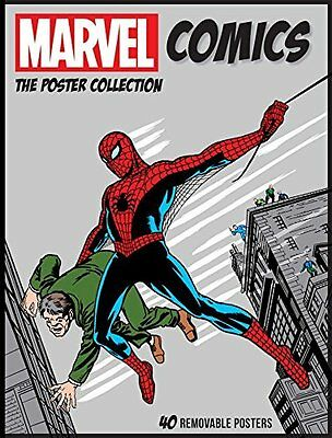 Marvel Comics Poster Collection by Insight Editions New Paperback Book