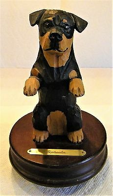Rottweiler Statue, Excellent Condition, By Michael Park, 1993
