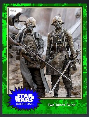 ??? MYSTERY TWO TUBES TWINS Topps Star Wars Card Trader Digital