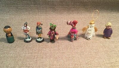 Lot (7) Handmade Trinkets/Figurines