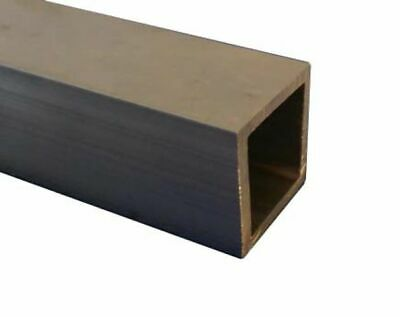 "Aluminium Square Tube Outside 1.25"", 10 SWG (1"" Internal) 100mm to 600mm Long"