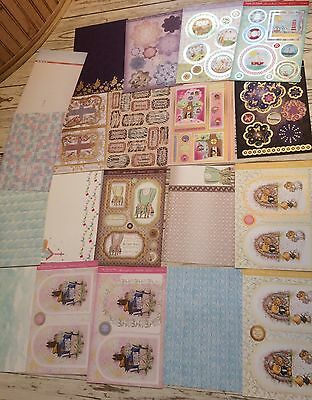 *craftroom clearout cardmaking hunkydory & Kanban topper sheets,card & paper