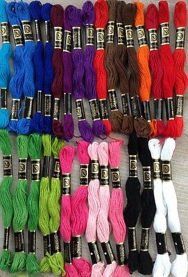 DFN Janlynn Selection of Skeins Embroidery/Cross Stitch Thread 100% Cotton