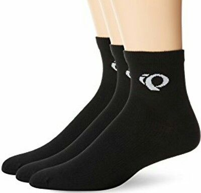 Pearl Izumi Attack Mens Cycling Ankle Socks 3 Pack L Or XL NWT Black