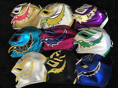 WWE Rey Mysterio Replica wrestling Mask Large Adults. Superstars Unofficial