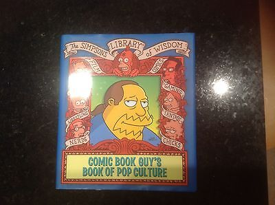 Simpsons Library of Wisdom Comic Book Guys book of Pop Culture New