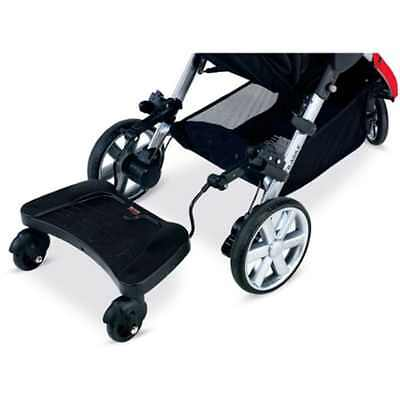 Stroller Board Travel Children Black Standing Pram Toddler Pushcar