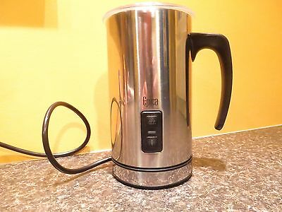 Epica Automatic Elec. Stainless Milk Frother Model #EP482 Carafe and Heater base