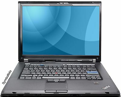 Lenovo ThinkPad W500 C2D T9600 2,8Ghz 4GB 250GB DVDRW WLAN CAM Win7Pro