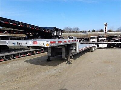 2008 Reitnouer 53 X 102 all aluminum drop decks with rear axle sliders!