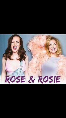 Rose and Rosie Exposed Tour - London Shepherds Bush Tickets X2 Tickets
