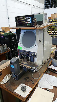 DELTRONIC 330A OPTICAL COMPARATOR with ACU-RITE DRO