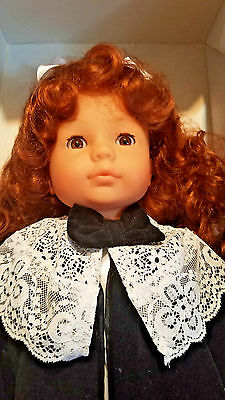 """COLLECTIBLE GOTZ DOLL """"VICTORIA"""" 1991 w/Orig Box  FIRST LIMITED EDITION"""