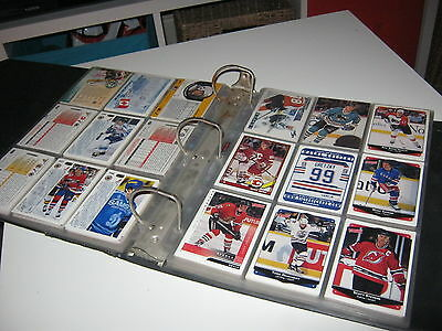 240 AMERICAN  ICE HOCKEY CARDS  FROM 1990- 97  MINT in binder