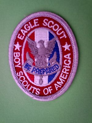 Bsa. Eagle Scout Cloth Badge.
