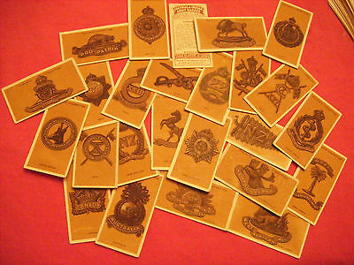 """Full Set From Players """"colonial & Indian Army Badges""""   1916"""