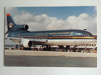 AK Royal Jordanian Lockheed Tri Star Airline Issued
