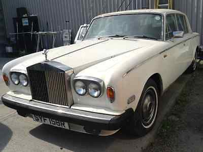 Rolls Royce wraith 11 barn find dry stored for 16 years Small window long doors