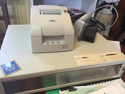 Posiflex pcAmerica POS System Cash Register E. Retail All-in-one Station  Used