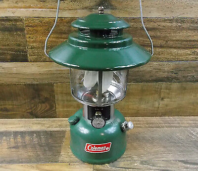 Vintage Coleman 228H Double Mantle Lantern Dated 2/74 Tested