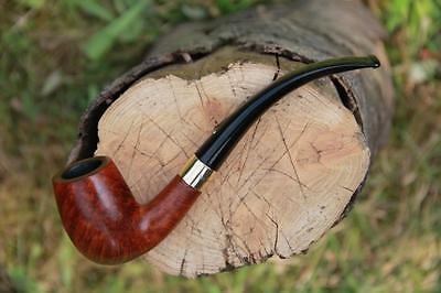 Dunhill Root Briar 51022 Bent Goldring Gold Band Estate Pfeife Estate Pipe