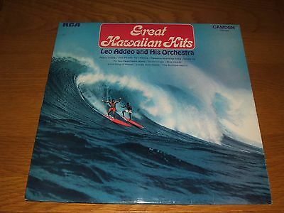 Leo Addeo and His Orchestra - Great Hawaiian Hits - (1972) - Vinyl - LP - Album