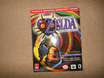 Zelda Majoras Mask  N64 Strategy Guide